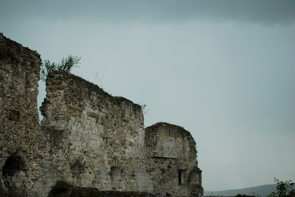 The remnants of Château Gaillard, built by Richard Lionheart,overlook the Seine Valley.