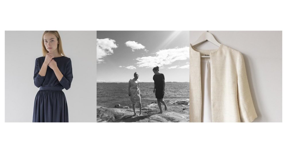 A selection of images from Kielo's instagram, including peeks at their SS16 collection.