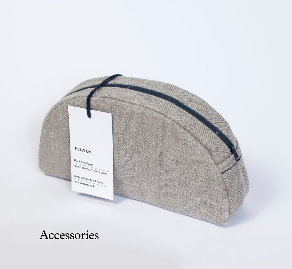 Sustainable and ethically-made accessories.
