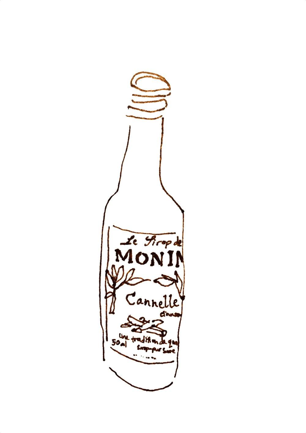 Syrup Bottle  by Gemma Hampton