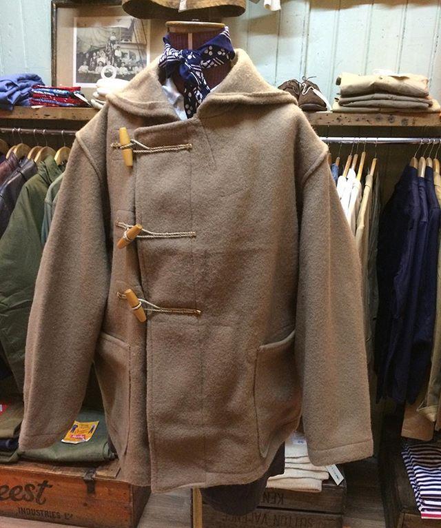 #deadstock #1940s #jeltek #royalnavy #dufflecoat