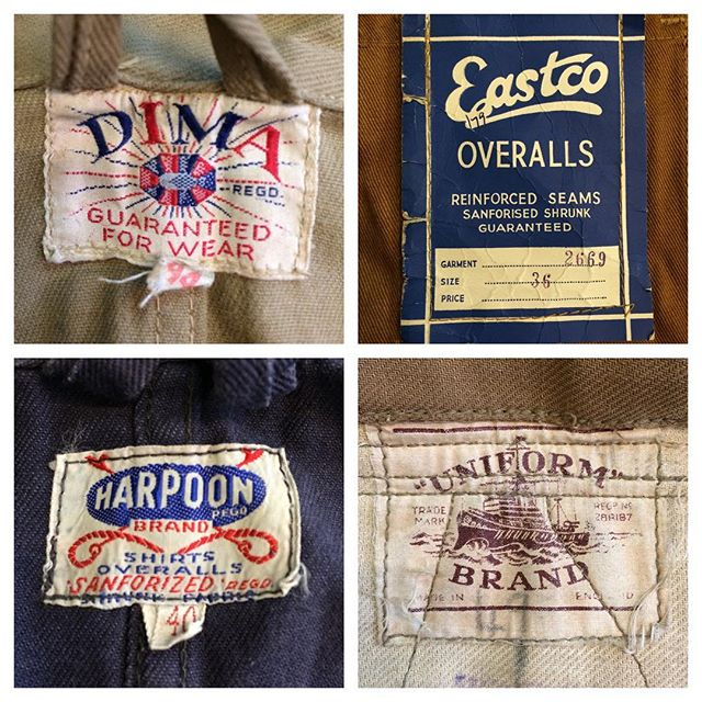 #labels #vintageworkwear