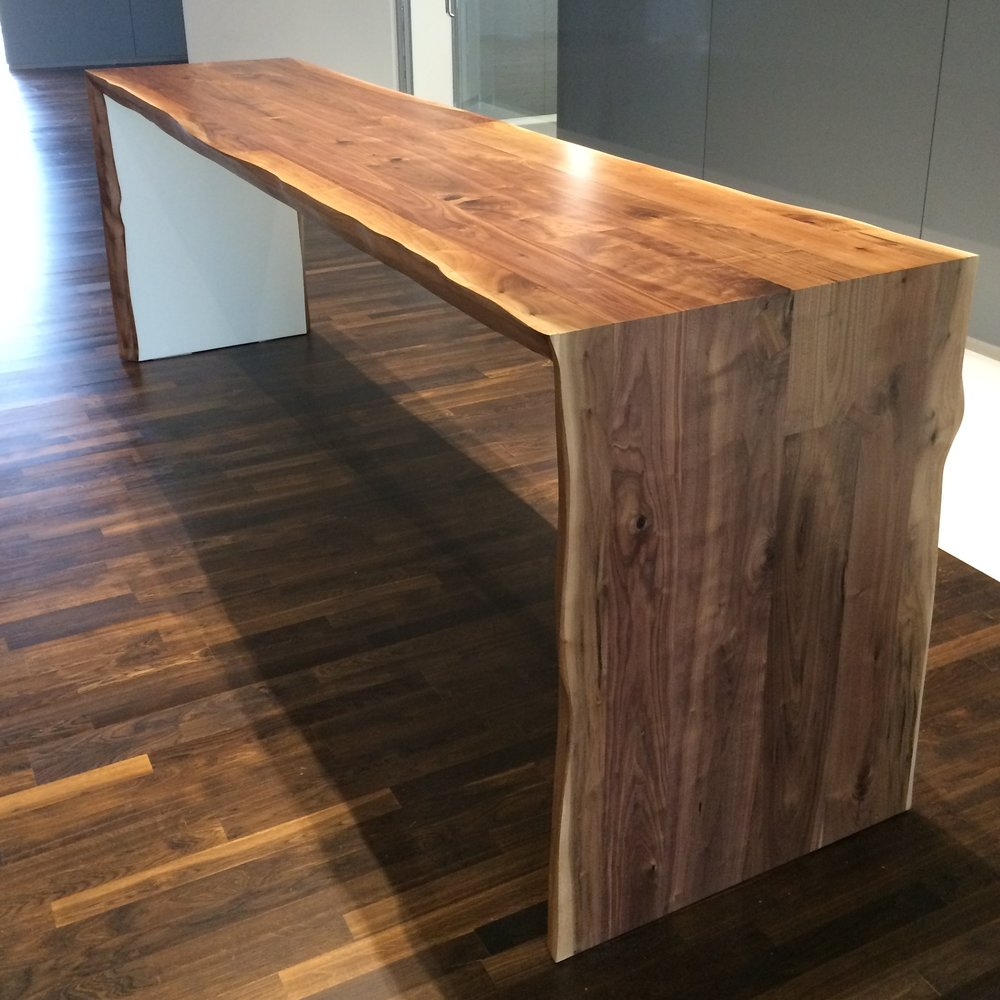 FOLDED FAUX SLAB TABLE