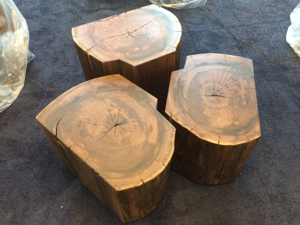 Log Coffee Table, Urban Lumber