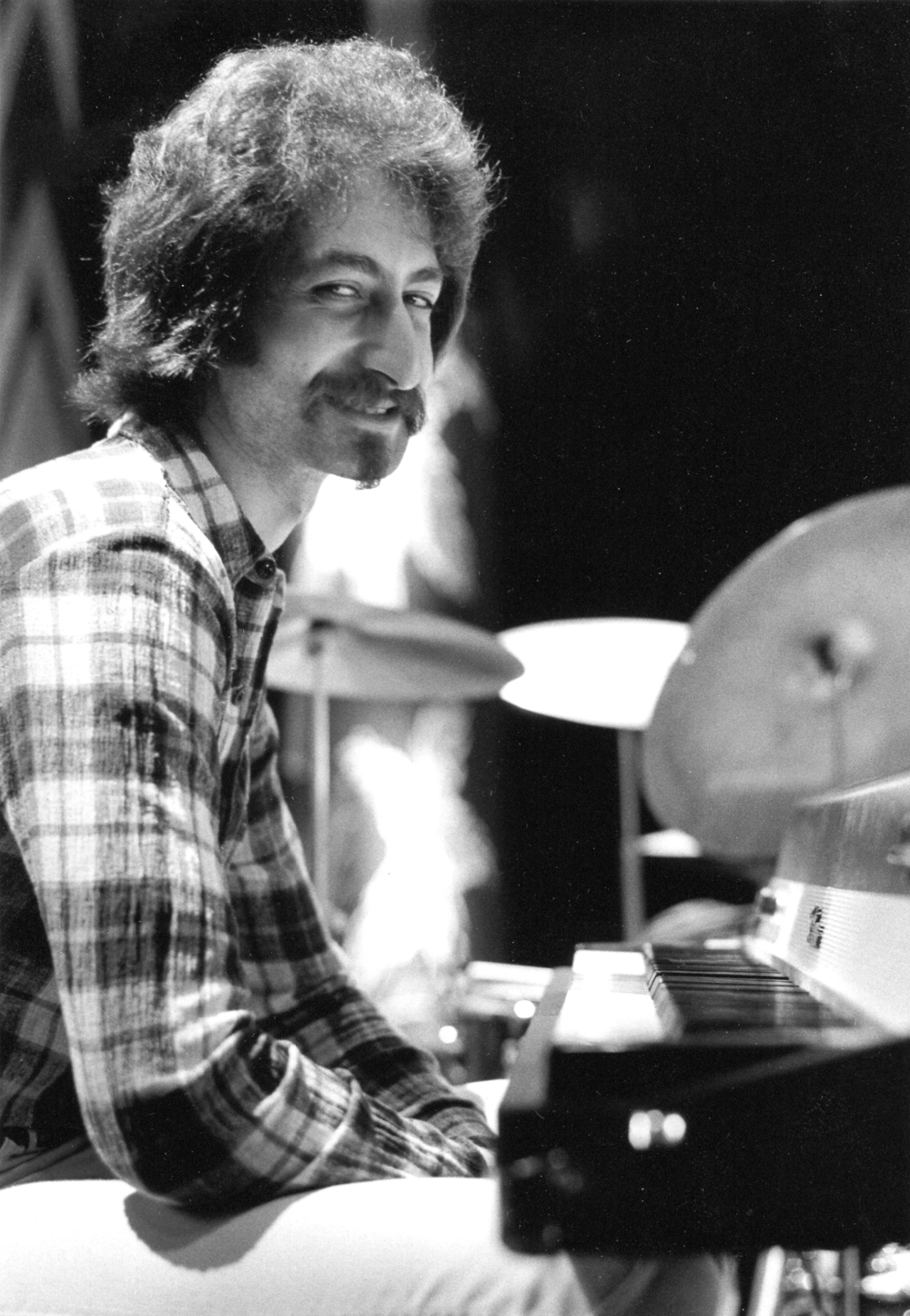 Armen Donelian as a member of Mongo Santamaria's band (1975)