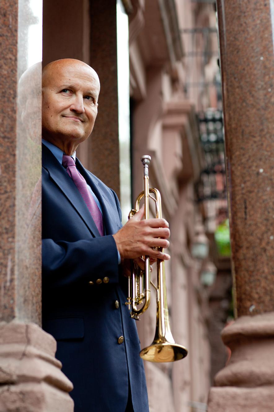 Chris Pasin, trumpet