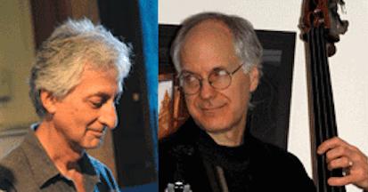 Pianist Armen Donelian (l) and Bassist David Clark (r)