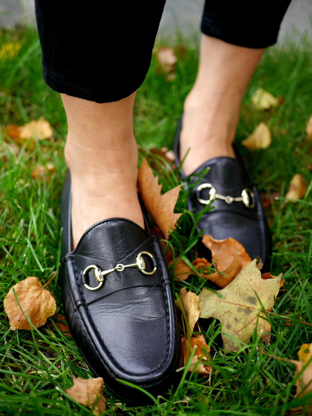 Gucci Loafers Barbour Jacket
