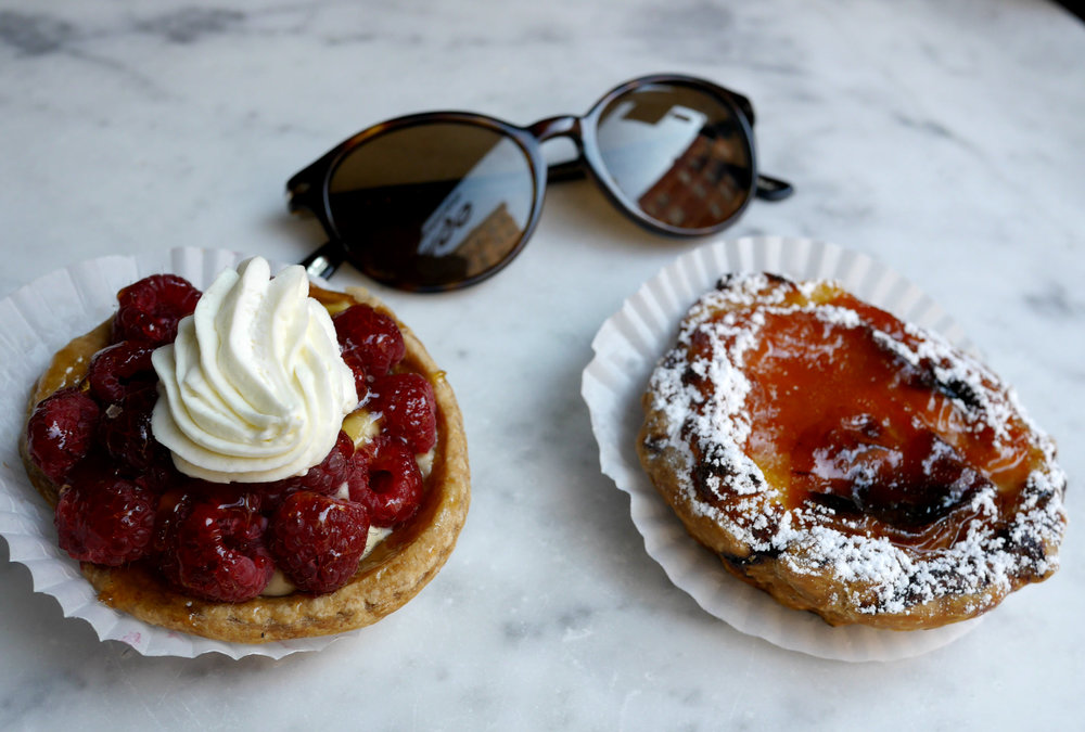 The most delicious pastries at Patisserie Claude in the Village.