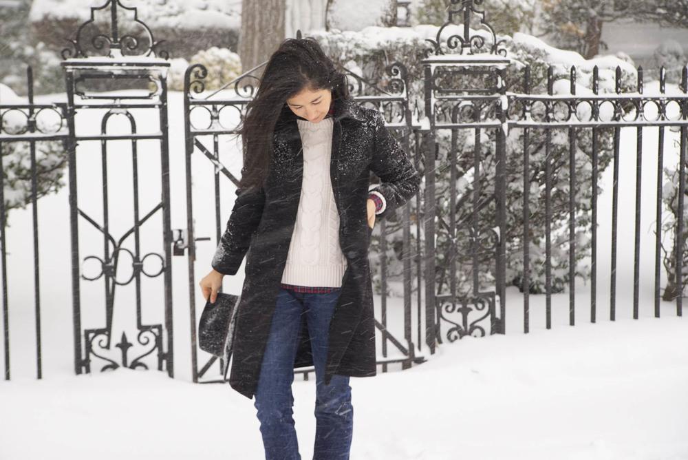 Wnter Storm Jonas Brooklyn New York Ralph Lauren Plaid Shirt LL bean Boots Levis 501 Jeans Brooks Brothers Jacket LL Bean Sweater 15.jpeg