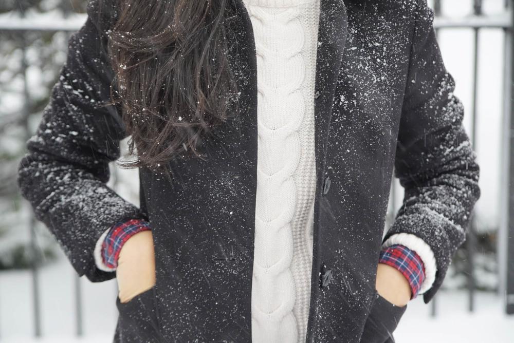 Wnter Storm Jonas Brooklyn New York Ralph Lauren Plaid Shirt LL bean Boots Levis 501 Jeans Brooks Brothers Jacket LL Bean Sweater 9.jpeg