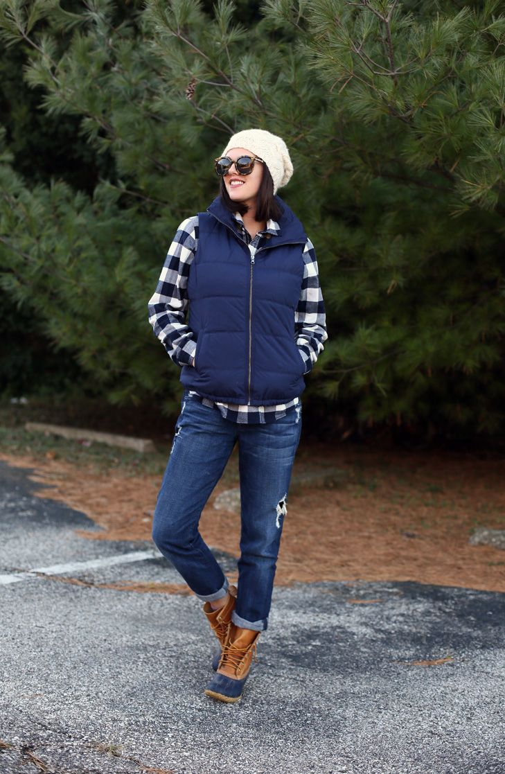 Bean Boots Preppy Outfit Bean Boots Preppy Fall Outfit Idea.jpg