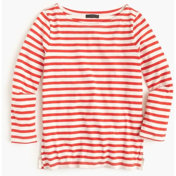 J Crew Striped Boatneck T-Shirt - $39.50