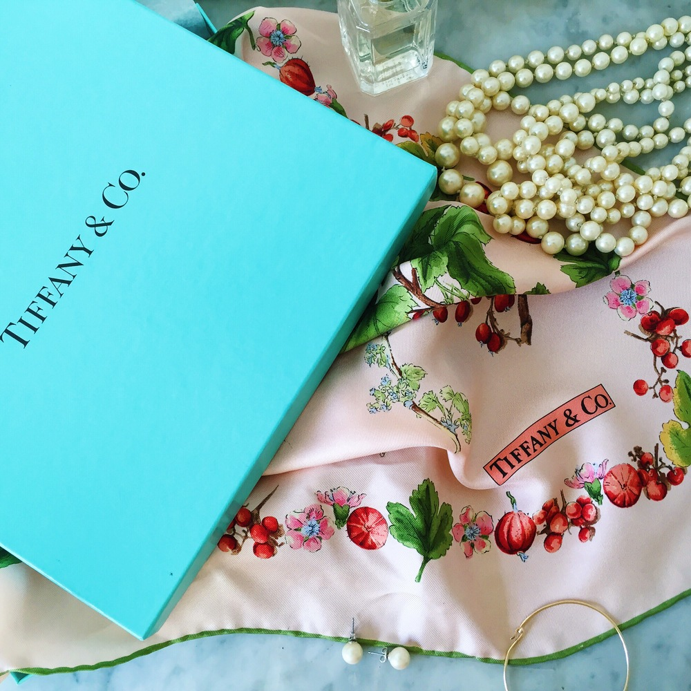 Tiffany Silk Scarf