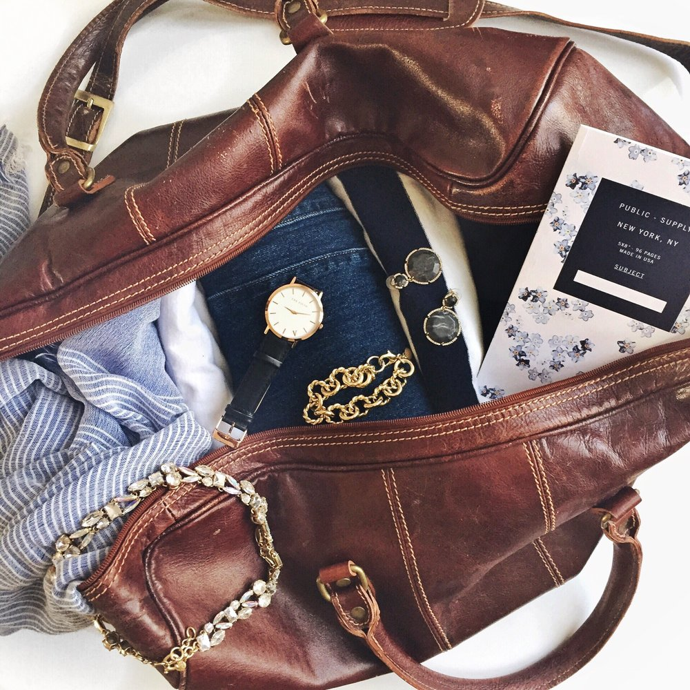 capsule-wardrobe-packing-guide-leather-duffel.JPG
