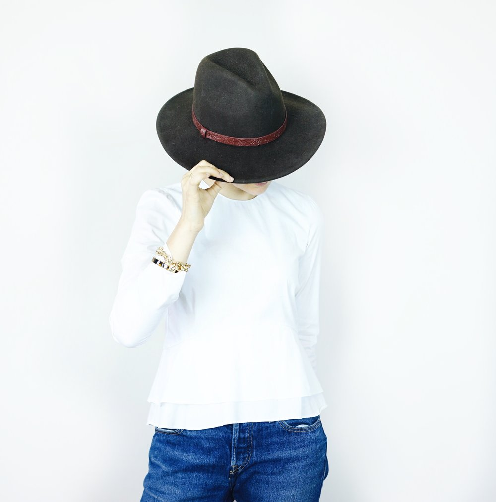 Zara-white-shirt-levis-501-ct-fedora-hat-new-years-resolutions-2017-goals.jpg