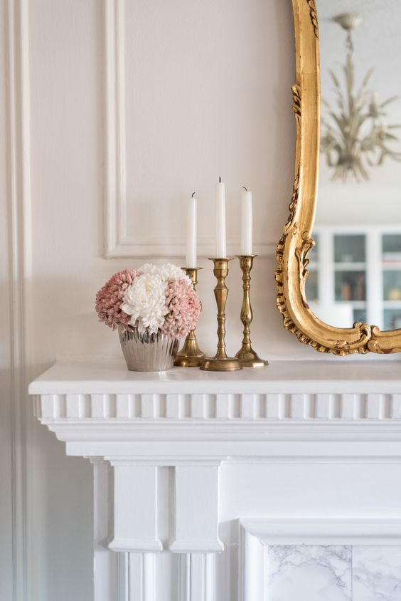 home-decor-white-fireplace-mantle-brass-candlesticks.jpg