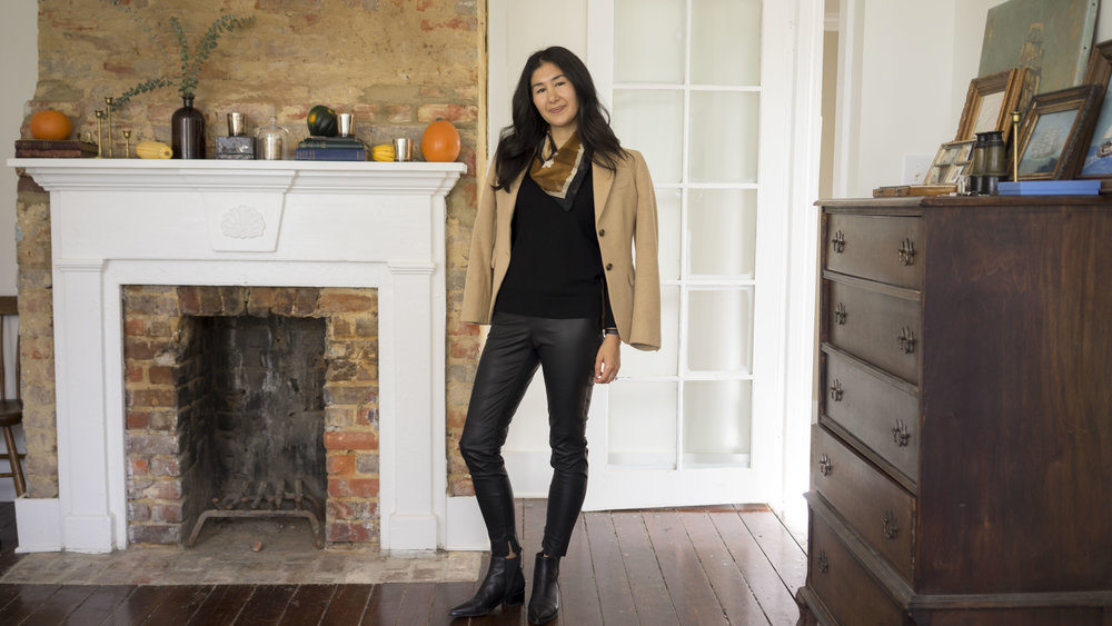 DSC00169jacy_watch_zara_leather_leggings_everlane_silk_shirt_marc_fisher_yale_boots.JPG