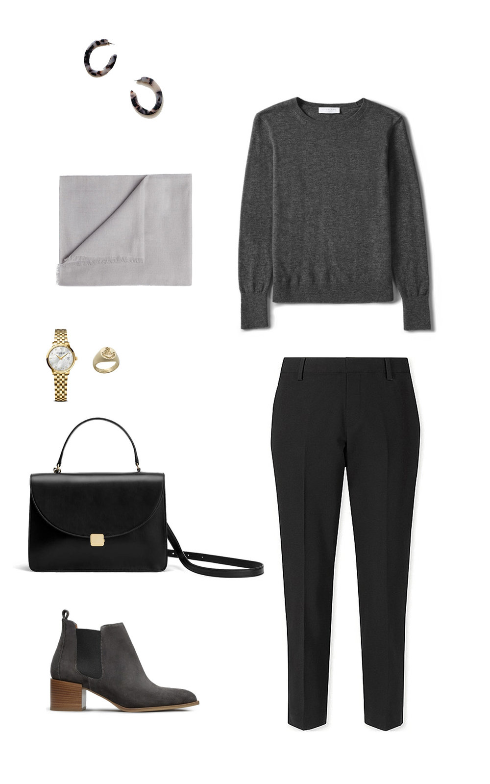 tortoise-shell-earrings-machete-earrings-everlane-cashmere-suede-ankle-boots-cuyana-purse-ruffs-signet-ring.jpg