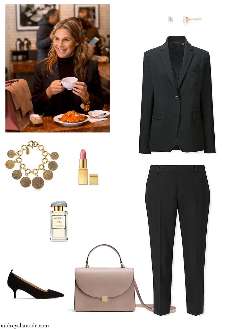 aerin-lauder-uniqlo-black-pants-uniqlo-blazer-cuyana-purse-aerin-perfume-everlane-editor-heels.jpg