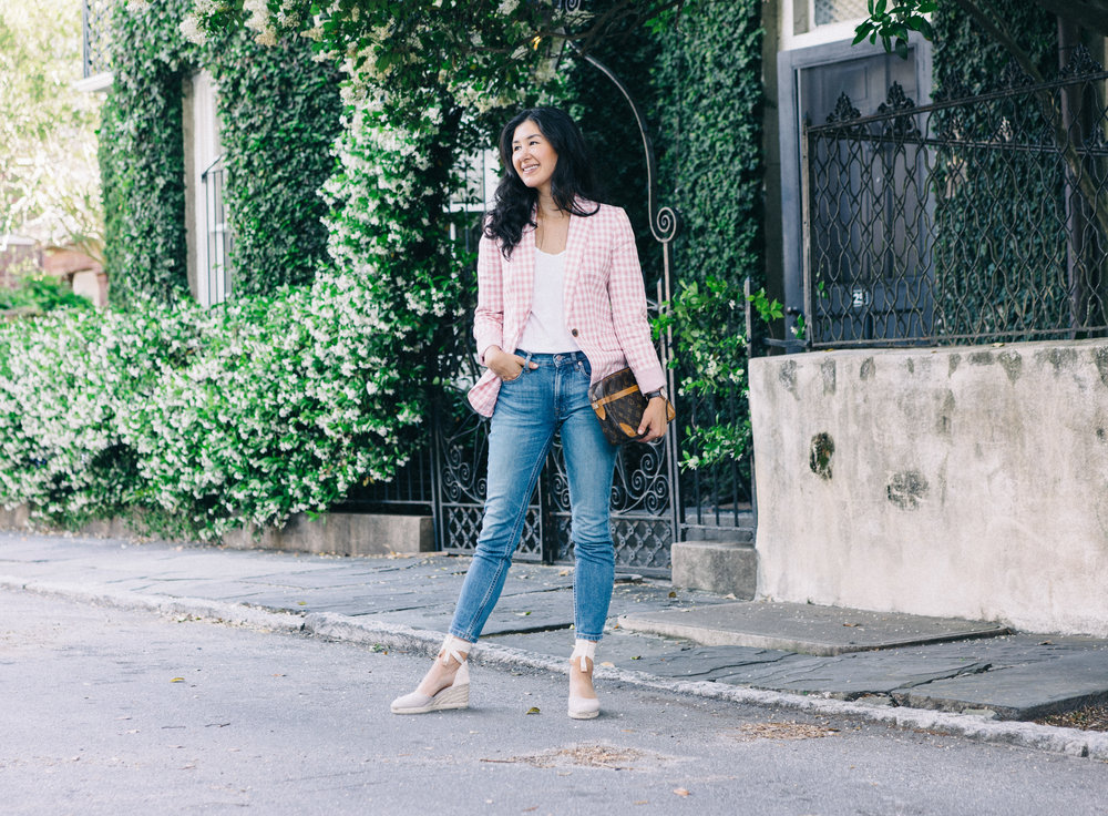 jcrew-gimgham-blazer-castaner-carina-espadrilles-louis-vuitton-clutch-everlane-jeans-everlane-tee-mejuri-diamond-necklace-jacy-watch-29.jpg