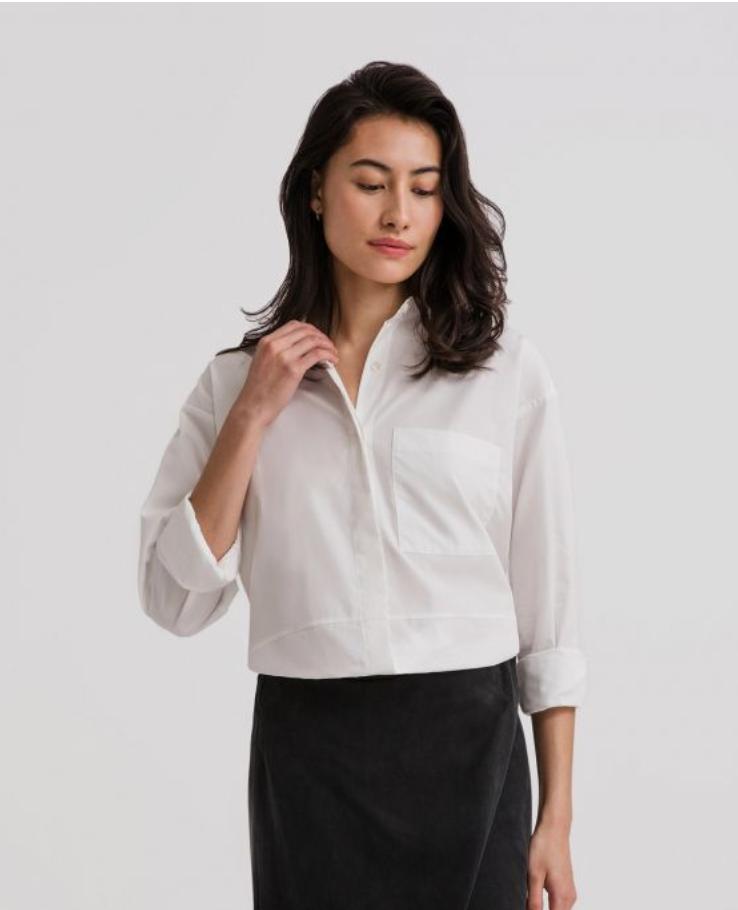 Oversized Poplin Shirt $41