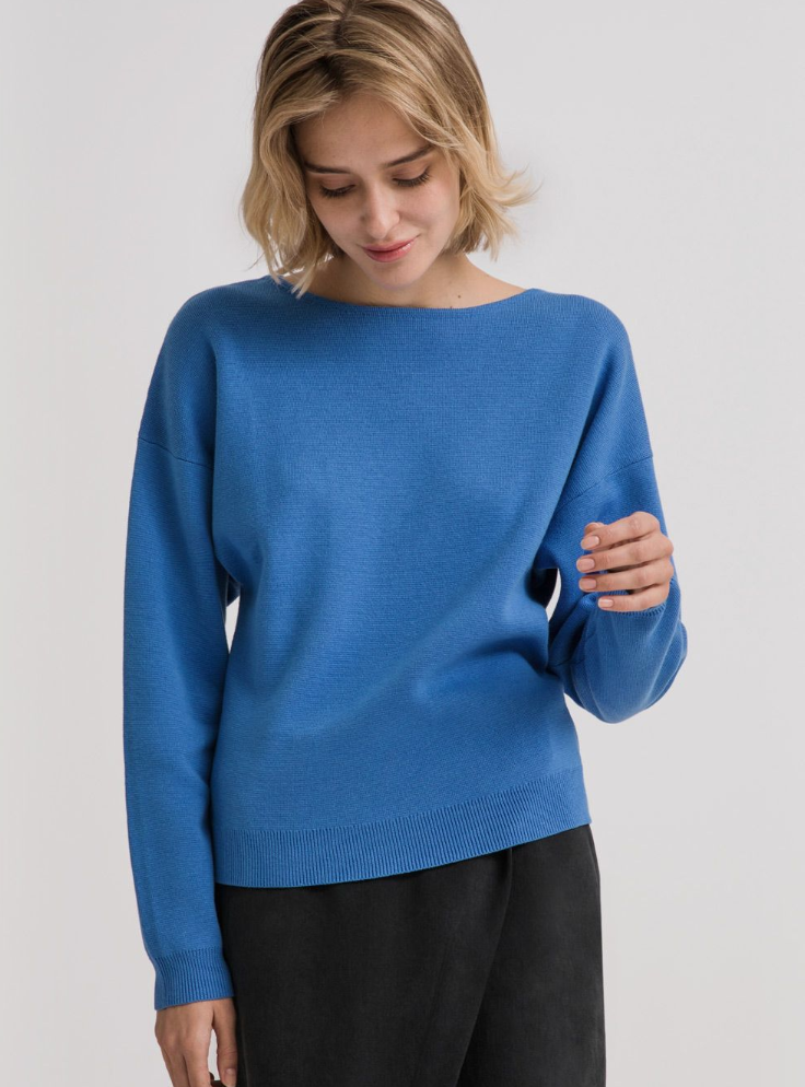 Wool Volume Sleeve Sweater $50
