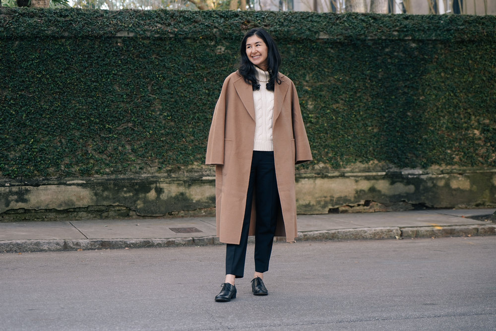 shop-curated-camel-coat-everlane-goweave-pants-wingtips-ruffs-signet-ring-mejuri-diamond-necklace-stone and strand-gold-huggies-3.jpg