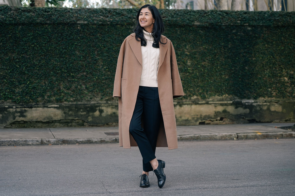 shop-curated-camel-coat-everlane-goweave-pants-wingtips-ruffs-signet-ring-mejuri-diamond-necklace-stone and strand-gold-huggies-9.jpg