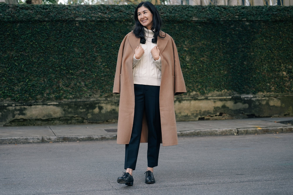 shop-curated-camel-coat-everlane-goweave-pants-wingtips-ruffs-signet-ring-mejuri-diamond-necklace-stone and strand-gold-huggies-15.jpg