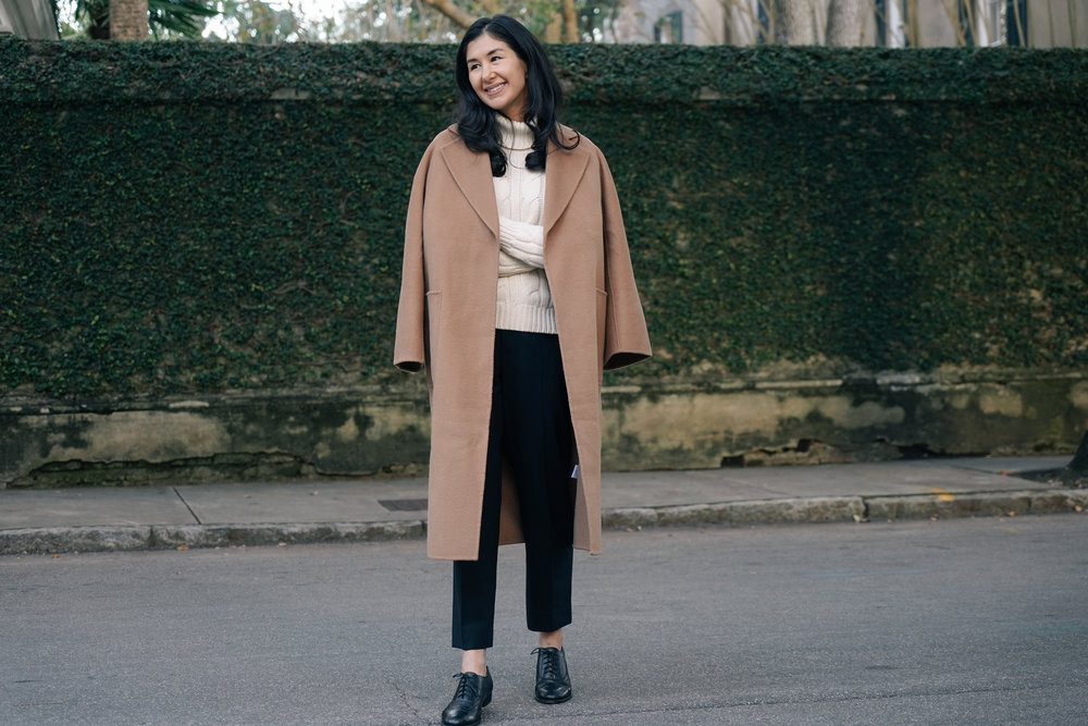 shop-curated-camel-coat-everlane-goweave-pants-wingtips-ruffs-signet-ring-mejuri-diamond-necklace-stone and strand-gold-huggies-the-curated-.jpg