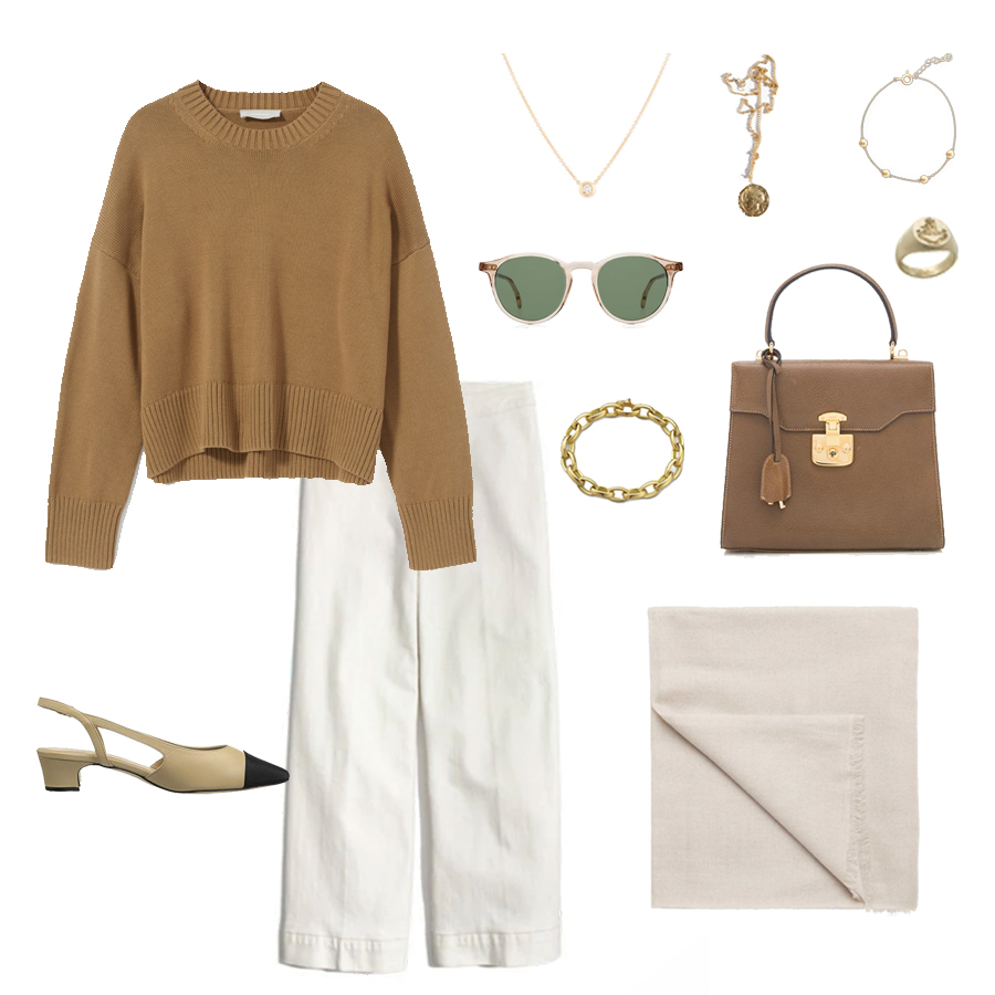 angela-roi-angelou-mini-bucket-thelma-loafers-wide-leg-crop-mejuri-pantos-paris-sunglasses-cuyana-scarf-transparent-sunglasses-ruffs-signet-ring-sabina-savage-scarf-everlane-cotton-crew.jpg