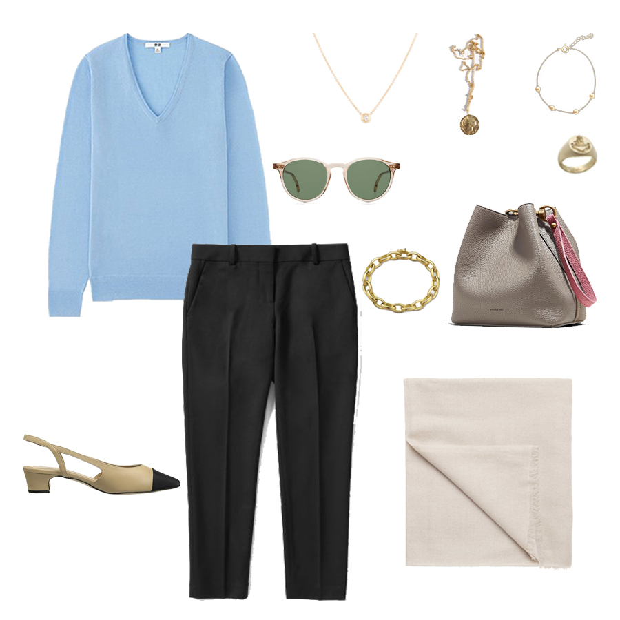 angela-roi-angelou-mini-bucket-thelma-loafers-wide-leg-crop-mejuri-pantos-paris-sunglasses-cuyana-scarf-transparent-sunglasses-ruffs-signet-ring-sabina-savage-scarf-everlane-silk-uniqlo-wool-.jpg