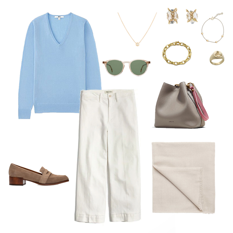 angela-roi-angelou-mini-bucket-thelma-loafers-wide-leg-crop-mejuri-pantos-paris-sunglasses-cuyana-scarf-transparent-sunglasses-ruffs-signet-ring-sabina-savage-scarf-everlane-silk-uniqlo-wool-sweater.jpg