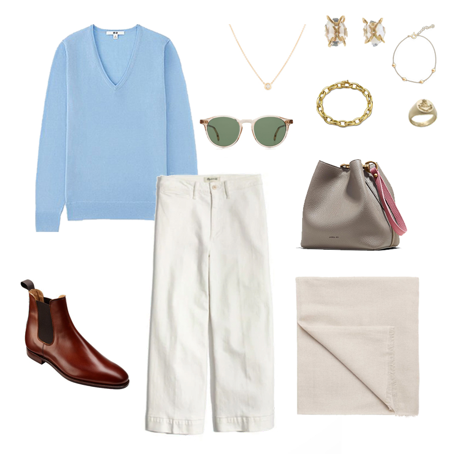 angela-roi-angelou-mini-bucket-thelma-loafers-wide-leg-crop-mejuri-pantos-paris-sunglasses-cuyana-scarf-transparent-sunglasses-ruffs-signet-ring-sabina-savage-scarf-everlane-silk-uniqlo-wool-chelsea-boots.jpg