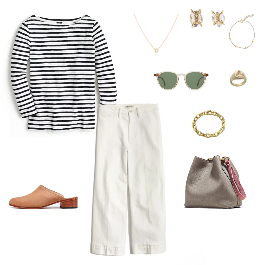angela-roi-angelou-mini-bucket-thelma-loafers-wide-leg-crop-mejuri-pantos-paris-sunglasses-cuyana-scarf-transparent-sunglasses-ruffs-signet-ring-sabina-savage-scarf-everlane-silk-uniqlo-wool-striped-t.jpg