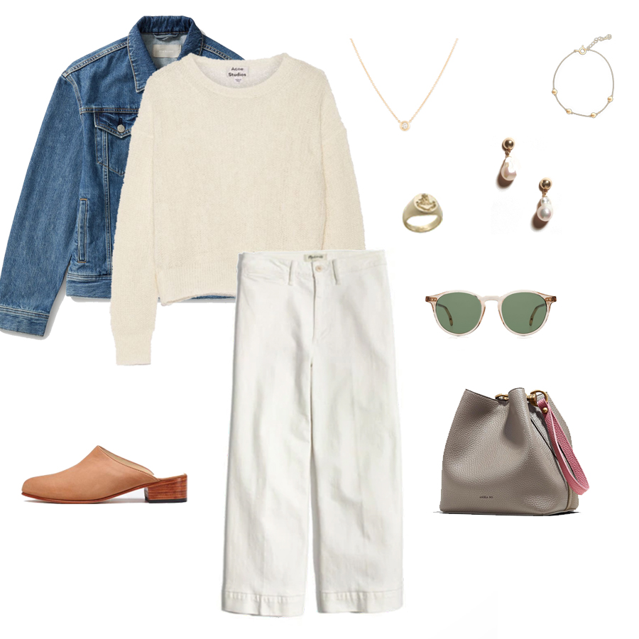 angela-roi-angelou-mini-bucket-thelma-loafers-wide-leg-crop-mejuri-pantos-paris-sunglasses-cuyana-scarf-transparent-sunglasses-ruffs-signet-ring-sabina-savage-scarf-everlane-silk-everlane-denim-jacket.jpg