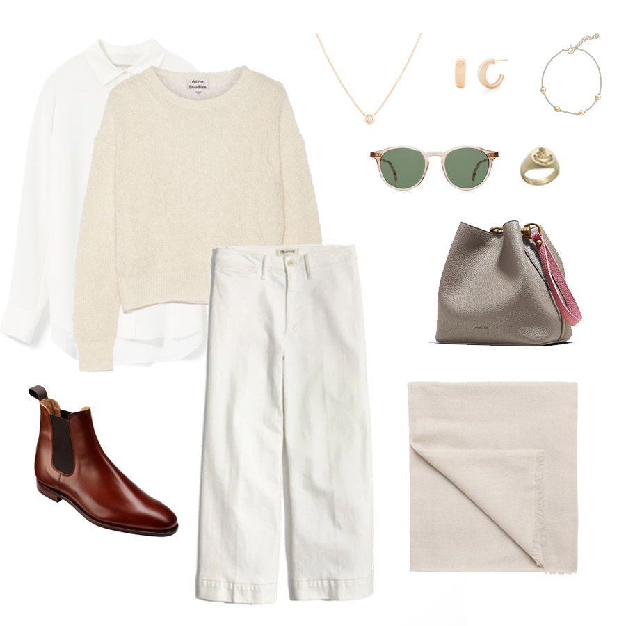 angela-roi-angelou-mini-bucket-thelma-loafers-wide-leg-crop-mejuri-pantos-paris-sunglasses-cuyana-scarf-transparent-sunglasses-ruffs-signet-ring-sabina-savage-scarf-everlane-silk-chelsea-boots.jpg