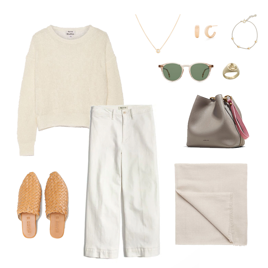 angela-roi-angelou-mini-bucket-thelma-loafers-wide-leg-crop-mejuri-pantos-paris-sunglasses-cuyana-scarf-transparent-sunglasses-ruffs-signet-ring-sabina-savage-scarf-st agni-mules.jpg