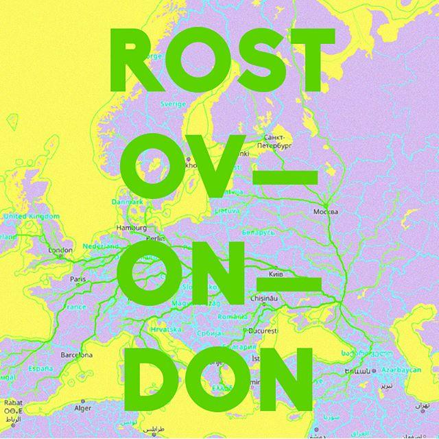 Todos los caminos llevan a Rostov-On-Don. — All roads to Rostov-On-Don . Basado en el juguete web de James Bridle — Based on James Bridle's web toy . . . . #elpiscinazo #piscinazofutbol #futbolart #footballart #caminoarusia #caminoamoscu #roadtrip #roadtorussia #moscow #moscu #bogota #berlin #madrid #jamesbridle #russia #rusia #rostov #rostovondon