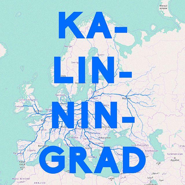Todos los caminos llevan a Kalinningrado. — All roads to Kalinningrad . Basado en el juguete web de James Bridle — Based on James Bridle's web toy . . . . #elpiscinazo #piscinazofutbol #futbolart #footballart #caminoarusia #caminoamoscu #roadtrip #roadtorussia #moscow #moscu #bogota #berlin #madrid #jamesbridle #russia #rusia #kalinningrad #kaliningrad