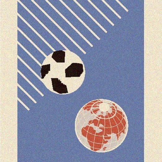 LA REVOLUCIÓN EMPIEZA POR EL AYER — Con el Fevernova vino la debacle. La revolución, la llamaron algunos; el nuevo siglo, se aventuraron otros; los más osados dijeron que era necesario afrontar el milenio entrante con un cambio radical. . . . . #elpiscinazo #piscinazofutbol #piscinazomundial18 #futbolart #footballart #moscow #moscu #bogota #berlin #madrid #russia #rusia #telstar #telstar18 #telstar18⚽️