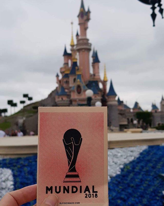 Cuando Francia celebró la Copa del Mundo...como niños en Disneyland⚽️🏆