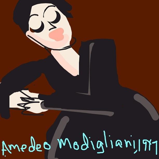 Anna Zborowska, Amedeo Modigliani, 1917 at @MuseumModernArt