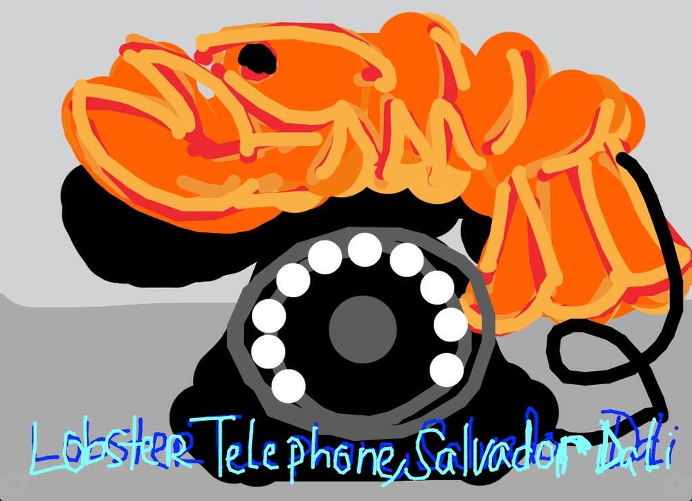 Lobster Telephone, Salvador Dali, 1936 at @Tate