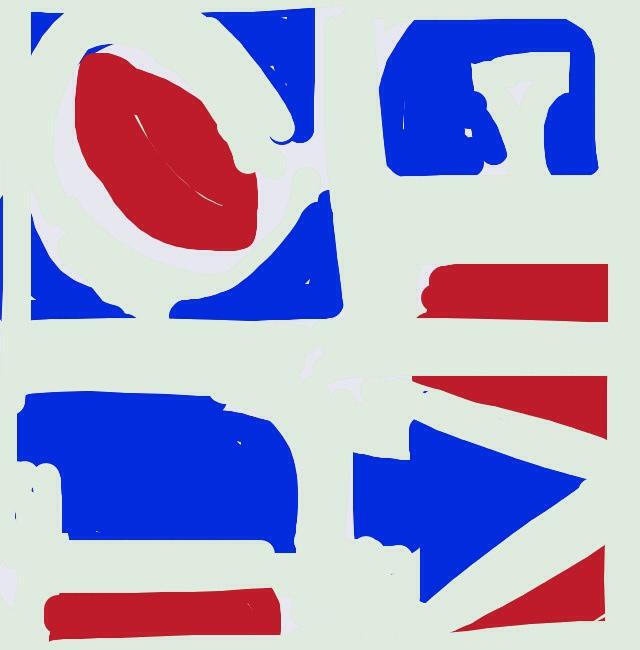 Four Panel Love, Robert Indiana. 1972 at @artsmia
