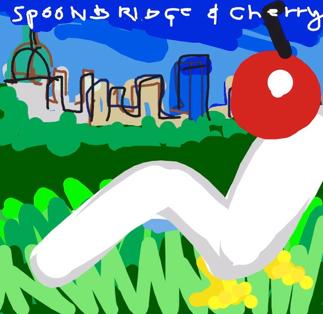 Spoonbridge & Cherry, Claes Oldenburg, Coosje van Bruggen, 1985-1988 at @walkerartcenter