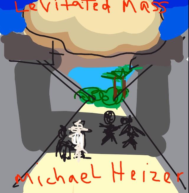 Levitated Mass, Michael Heizer at @LACMA