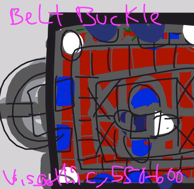 Belt Buckle, Visgothic, 500-650 at @MetMuseum