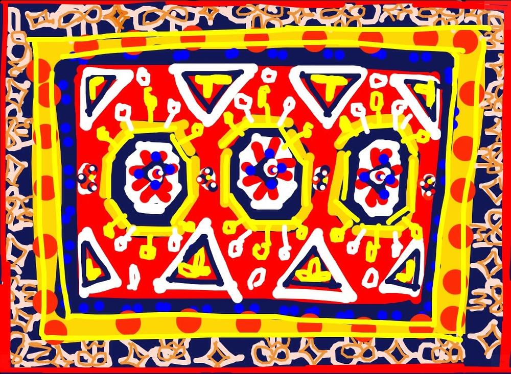 Three Star 'Holbein' Carpet, Turkey, 1400-1450 at @MIAQatar